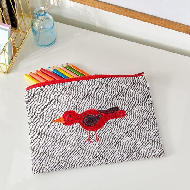 Coats & Clark Bobble Bird Bag in color