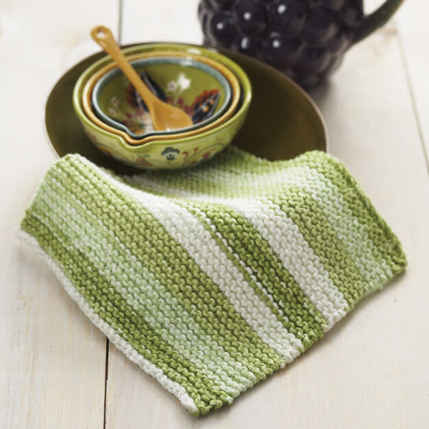 Lily Sugar 'n Cream Basic Dishcloth in color