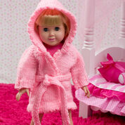 Go to Product: Red Heart Doll Robe and Bunny Slippers in color