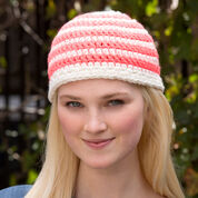 Red Heart Have a Stripe Hat