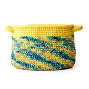 Go to Product: Bernat Dip Edge Crochet Basket in color