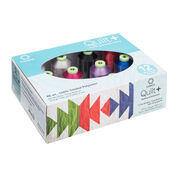 Coats & Clark Quilt + Quilting & Embroidery Thread 12 Spool Set, Basic