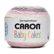Caron Baby Cakes Yarn, Dreamy Rose