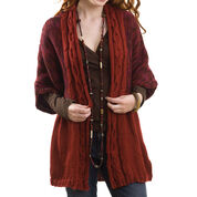 Go to Product: Caron Cable Front Cardigan, S in color