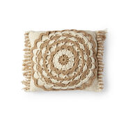 Go to Product: Red Heart Fringed Mandala Pillow in color