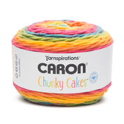 Go to Product: Caron Chunky Cakes Yarn, Rainbow Jellies in color Rainbow Jellies