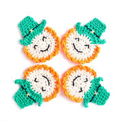 Go to Product: Lily Sugar'n Cream Luck of the Irish Crochet Coasters in color