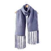 Bernat Texture Mix Knit Scarf
