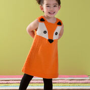 Red Heart Child's Foxy Tunic, 2 yrs