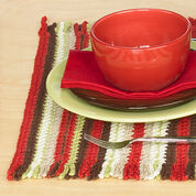 Red Heart Crochet Placemat