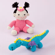 Go to Product: Red Heart Gracie & Her Dragon in color