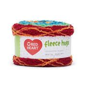 Go to Product: Red Heart Fleece Hugs Yarn in color Jungle