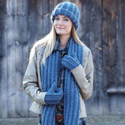Go to Product: Bernat Cozy Knit Set, Mittens in color