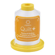 Go to Product: Coats & Clark Quilt + Piecing & Quilting Thread 600 yds, White in color White