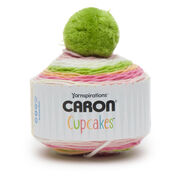 Go to Product: Caron Cupcakes Yarn in color Strawberry Kiwi Pop