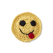 Go to Product: Aunt Lydia's Yummy Happy Face Emoji Applique in color