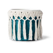 Lily Sugar'n Cream Little Potted Plant Crochet Cozy
