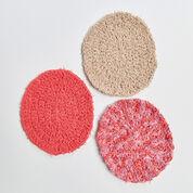 Red Heart Crochet Oval Scrubby