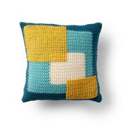 Go to Product: Bernat Crossed Squares Crochet Pillow in color