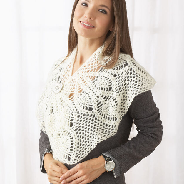 Patons Crochet for Yourself Scarf in color