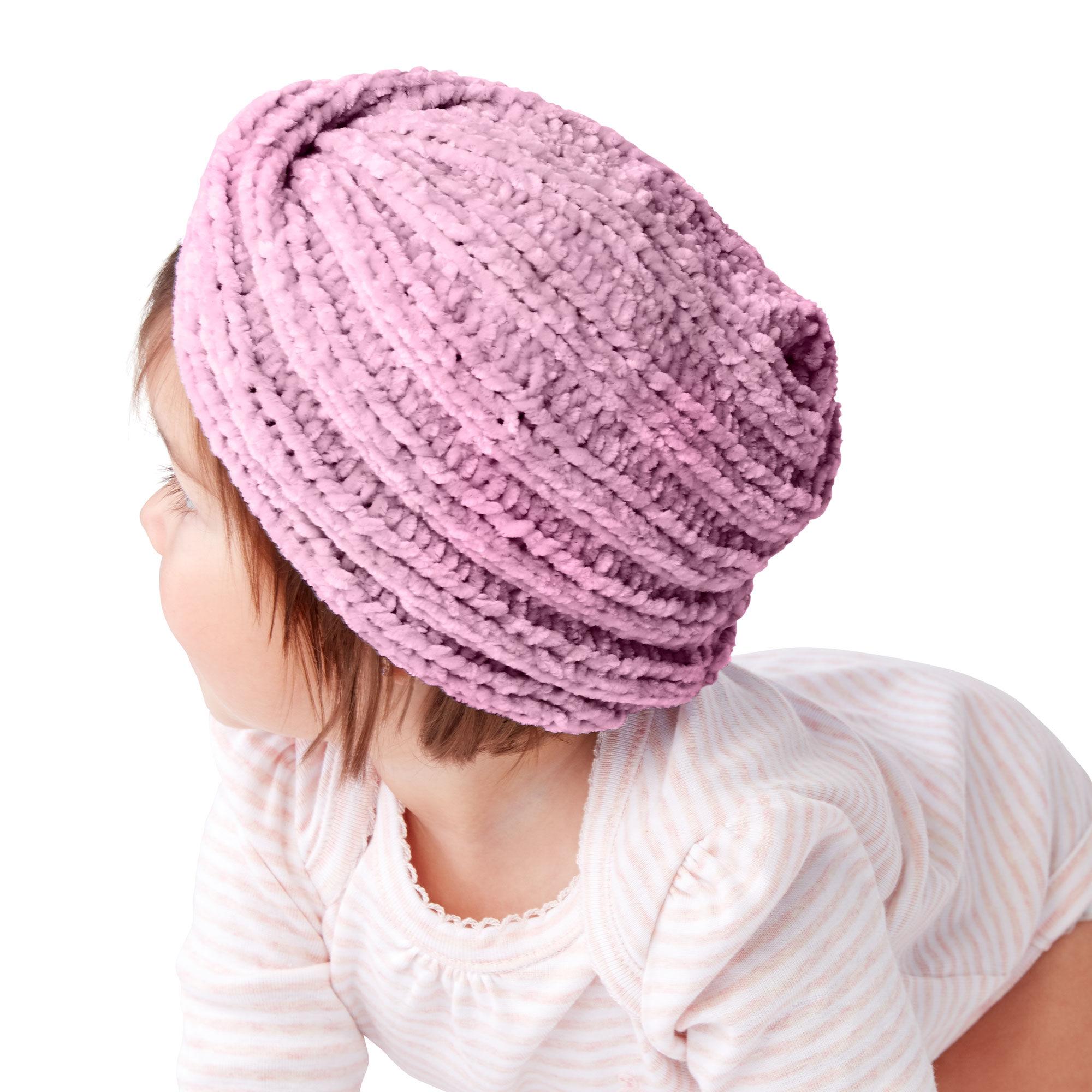 Bernat Knit Baby Turban, 6-12 mos. Pattern | Yarnspirations