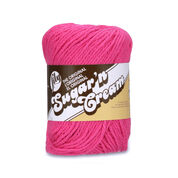 Go to Product: Lily Sugar'n Cream The Original Yarn in color Hot Pink