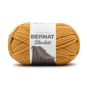 Go to Product: Bernat Blanket Yarn (300g/10.5 oz) in color Burnt Mustard
