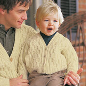 Patons Son's Cardigan , 4 yrs