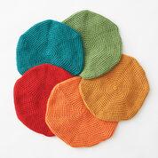 Bernat Classic Crochet Beret, Foliage