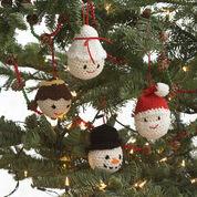 Lily Sugar'n Cream Amigurumi Ornaments, Angel