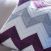 Coats & Clark Chevron Pillow