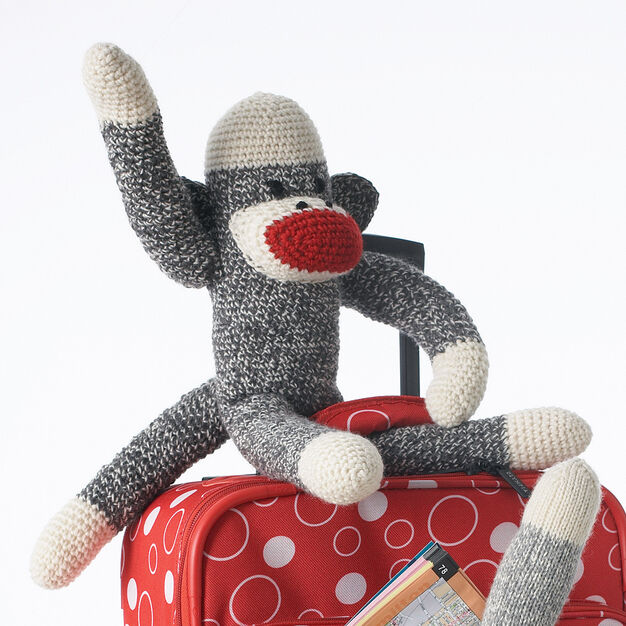 Patons Basic Crochet Sock Monkey