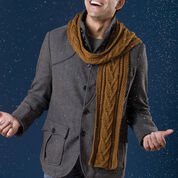 Men Scarf Knit Patterns Download Free Patterns Yarnspirations
