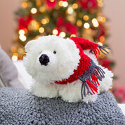 Go to Product: Red Heart Fluffy Polar Bear in color