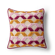 Patons Geo-Pop Crochet Pillow