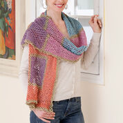 Red Heart Wrap Me Shawl