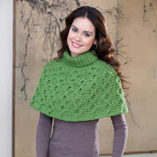 Go to Product: Red Heart Aran Waves Poncho, XS/S in color