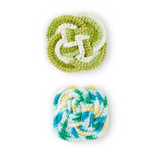 Go to Product: Lily Sugar'n Cream Crochet Knot Coaster in color