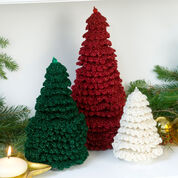 Go to Product: Red Heart Ruffle Fir Trees, S in color