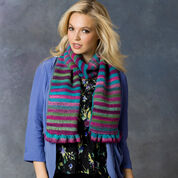 Go to Product: Red Heart Striped Shades Scarf in color
