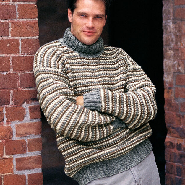 Patons Rugged Turtleneck, S
