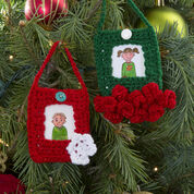 Go to Product: Red Heart Festive Ornament Frames in color