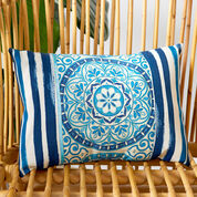 Go to Product: Coats & Clark Outdoor Medallion Rectangular Pillow in color