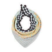 Caron Fan Club Crochet Shawl