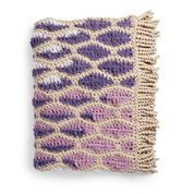 Go to Product: Bernat Dancing Diamonds Crochet Blanket in color