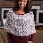 Go to Product: Red Heart Honeycomb Poncho in color