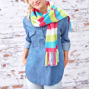Go to Product: Red Heart Bright Stripes Textured Scarf in color