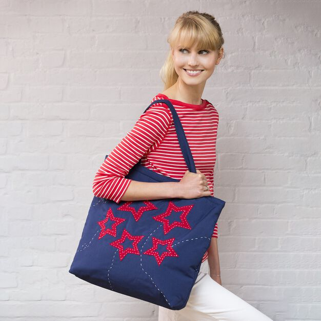 Dual Duty Star Struck Tote in color
