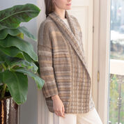 Red Heart Toscana Cardigan, S