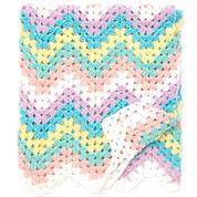 Bernat Rainbow Blanket